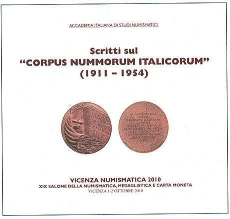 Scritti sul CORPUS NUMMORUM ITALICORUM